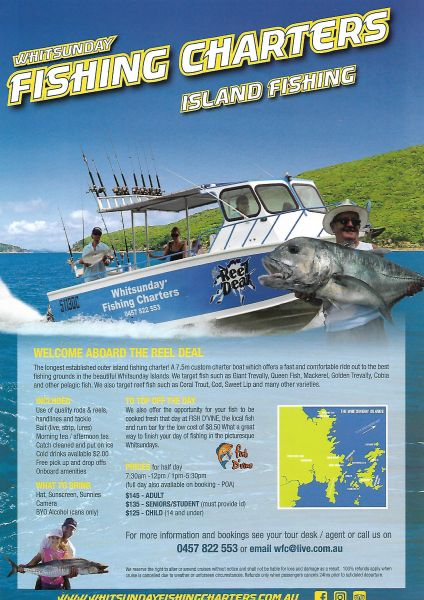 Whitsunday Fishing Charters Great Barrier Reef Fishing