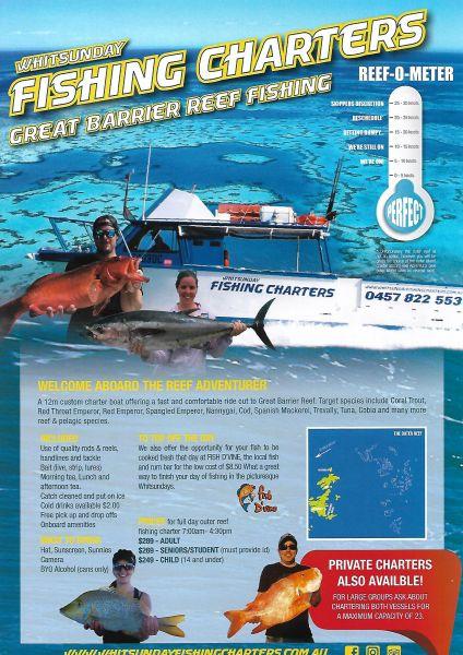Whitsunday Fishing Charters Island Fishing